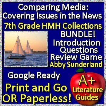 Abby Sunderland Media Analysis: Covering Issues in the News Bundle - HMH HRW