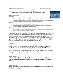 Media Analysis: Examining Global Inequalities and Sustaina