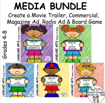 Media Bundle Grades 4-8  #ateachersChristmasinJuly  #HotDealsinJuly