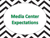 Media Center Expectations with Matching Reading Strategies