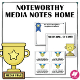 Media Center Positive Notes Home to Parents