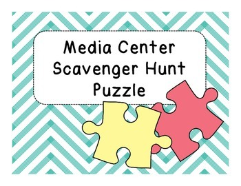 Media Center Scavenger Hunt