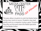 Media Center VIP Pass