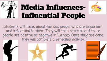 Media Influences- Influential People