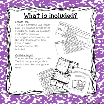 Media Interactive Notebooks - 5th Grade Introduction