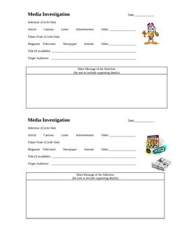Media Investigation Cards