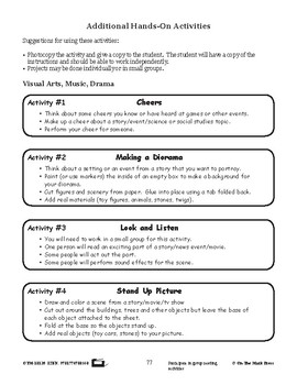 Media Literacy Activities Lesson Plan Grades 2-3 - Aligned to Common Core
