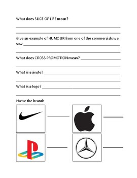 Media Literacy - Advertising Assessment