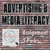Media Literacy & Advertising - Ad Analysis & Culminating Project