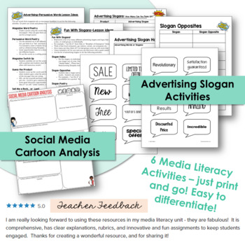 Media Literacy / Advertising Activities - Bundle
