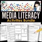 Media Literacy / Advertising & Social Media Activities - Bundle