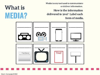 Media Literacy - An introduction to media at the junior/intermediate level