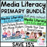 Media Literacy BUNDLE for Primary Grades: Save 15%
