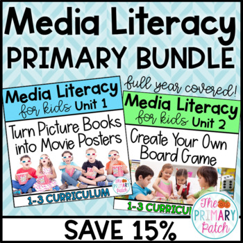 Media Literacy BUNDLE for Primary Grades: Save 15%