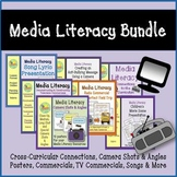 Media Literacy Bundle - Commercials, Song Lyrics, Movie Scenes