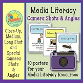 Media Literacy - Camera Shots and Angles Posters
