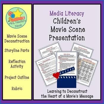 Media Literacy - Children's Movie Scene Presentation
