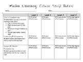 Media Literacy: Comic Strip Rubric
