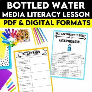Media Literacy: Consumer Awareness Lesson - Bottled Water