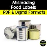Media Literacy: Consumer Awareness Lesson - Misleading Foo