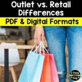 Media Literacy: Consumer Awareness Lesson - Outlet vs. Retail