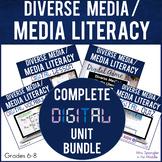 Media Literacy   Diverse Media DIGITAL BUNDLE