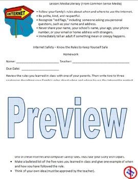 Media Literacy - Internet Safety Unit