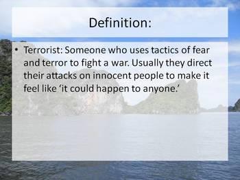 Media Literacy Intro--Spot the Terrorist