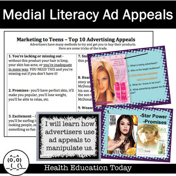 Health Lesson: Media Literacy and the Dangers of Tobacco Ad Appeals
