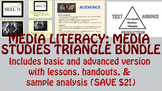 Media Literacy: Media Studies Triangle Bundle (Basic + Advanced)