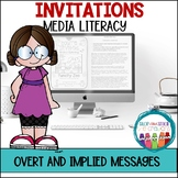Media Literacy Overt and Implied Messages
