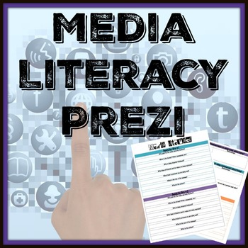 Media Literacy: Print and Commercial Prezi with Handout