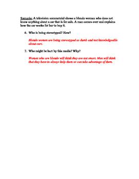 Media Literacy Quiz