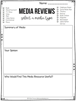 Media Literacy Review Writing 16 Lessons