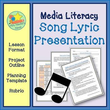 Media Literacy - Song Lyric Presentation