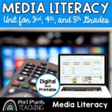 Media Literacy Unit Plan, Distance Learning, Google Classroom