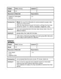 Media Literacy Unit - Grade 5/6