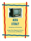 Media Literacy: image, text, poster, magazine, commercials