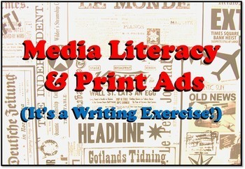 Media Literacy with Print Ads