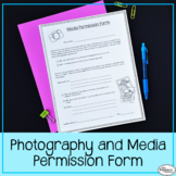 Photography and Social Media Consent Form