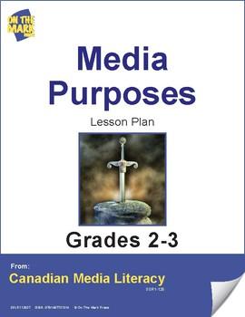 Media Purposes Lesson Plan Gr. 2-3
