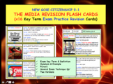 Media Revision flash cards GCSE CITIZENSHIP 9-1