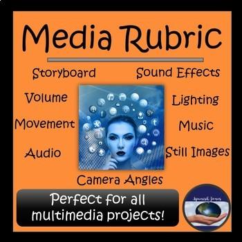 Media Rubric - Editable