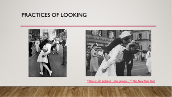 Media Studies / Cultural Studies Lesson: Practices of Looking