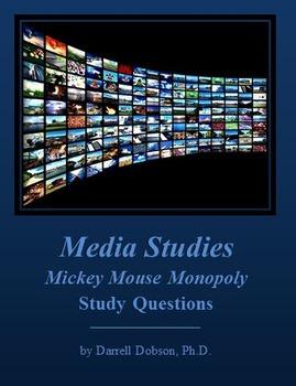 Media Studies -- Mickey Mouse Monopoly