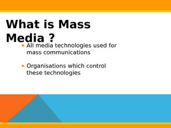 Media Studies Resources