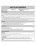 Media Studies Unit Plan