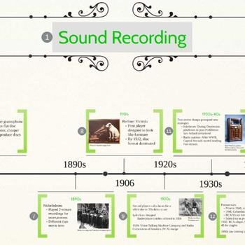 Media Studies on Music Recording: Lesson Plan & Prezi