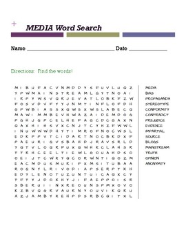 Media Word Search