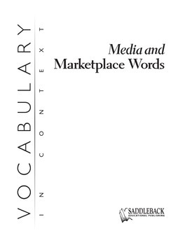 Media and Marketplace Words